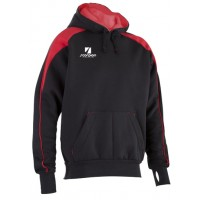 Black & Red Pro Netball Hoodies