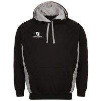 Black & Silver College Netball Hoodies