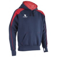 Navy & Red Pro Netball Hoodies
