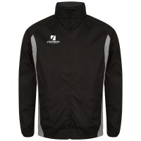 Black & Silver College Netball Training Jacket