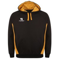 Black & Amber College Netball Hoodies