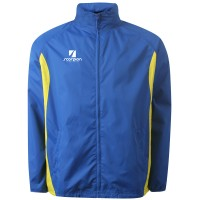 Royal & Yellow College Netball Training Jacket