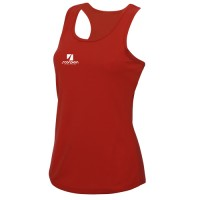 Red Ladies Training Vests